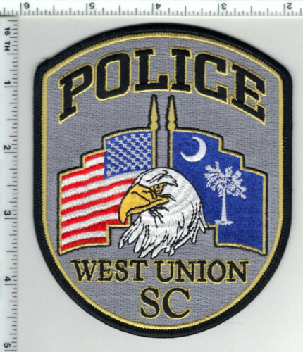West Union Police (South Carolina) 2nd Issue Shoulder Patch