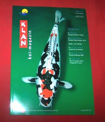 Klan Koi Magazin 2005 Nr  3 , 13. Jahrgang , Internationales Nishikigoi Magazin