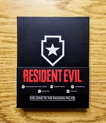 Resident Evil R.P.D. S.T.A.R.S Pin Badge Official Limited RPD Stars Remake