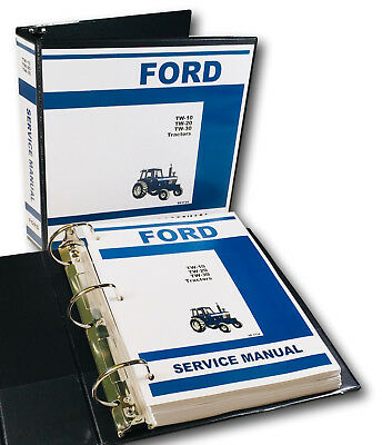 Ford Tw10 Tw20 Tw30 Tractor Factory Service Repair Manual Shop Book Overhaul