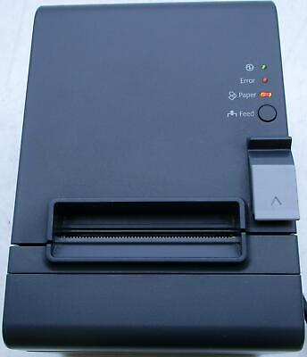 Epson Tm-t20 M249a Thermal Receipt Printer With Power Cord Used