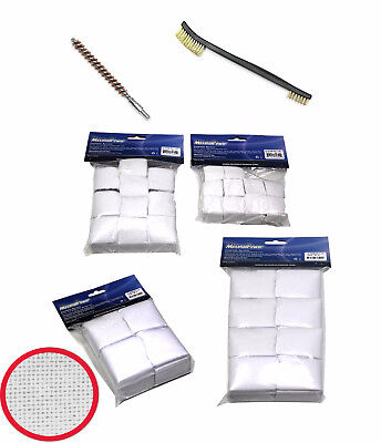 MaximalPower Hard COTTON/ Gun Brushes/Patches Bore for 2-1/4