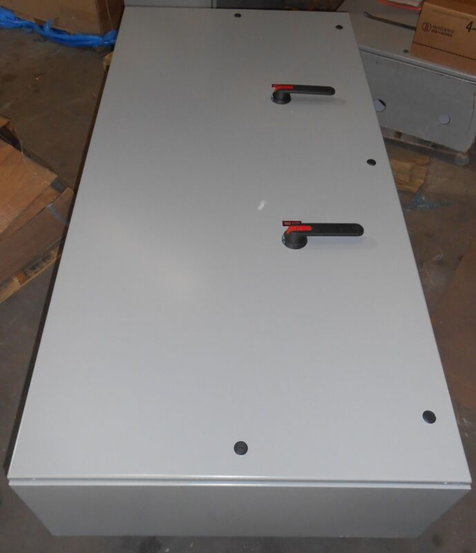 ABB  1600Amp DISTRIBUTION GENERATOR LOAD SPLIT BOX 1200 x 2 TRANSFER SWITCH NEW