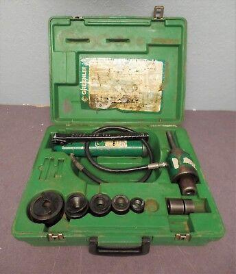 Greenlee 7306sb 34 - 2 Hydraulic Slugbuster Knockout Kit 7306 Sb
