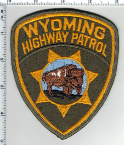 Highway Patrol (Wyoming) 2nd Issue Shoulder Patch