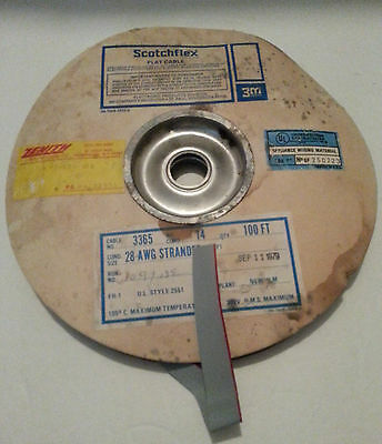 Scotchflex 14 Conductor Flat Ribbon Cable Roll Led Display Hifi Amp