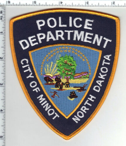 City of Minot Police (North Dakota) 3rd Issue Shoulder Patch