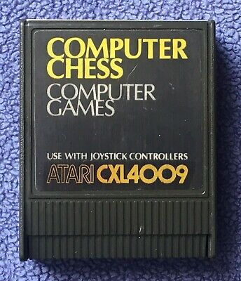 Atari 400/800/XL/XE - Computer Chess (CXL4009) - game cartridge only - tested