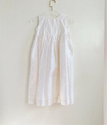 Silk Communion Dress (NWT Katie&Co Girls 5 Dress Pearl White Silk Taffeta Easter Flower Girl)