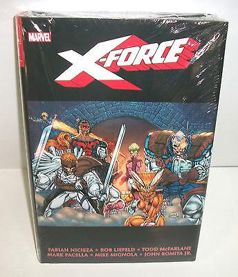 X-Force Marvel Comics Omnibus Vol 1 Brand New Sealed 1st Deadpool New Mutants 98