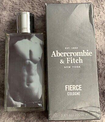 Abercrombie & Fitch Fierce 3.4oz Men's Cologne Spray 100% FULL