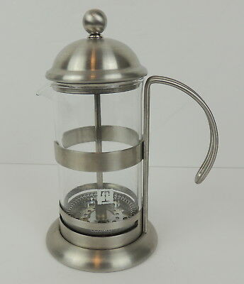 French Tea Press 1 - 2 Cups TeaLeaves.com Brand Pyrex Glass Inventory#2