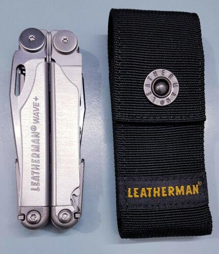 Leatherman Wave Plus Multi-Tool 17 Function MPT 832531 Stainless Steel W Sheath