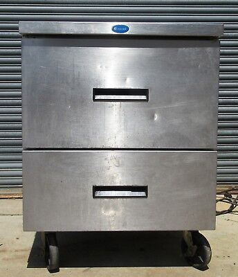 Randell Under Counter Onion Drop In 2 Drawer Stainless Steel Refrigerator 27