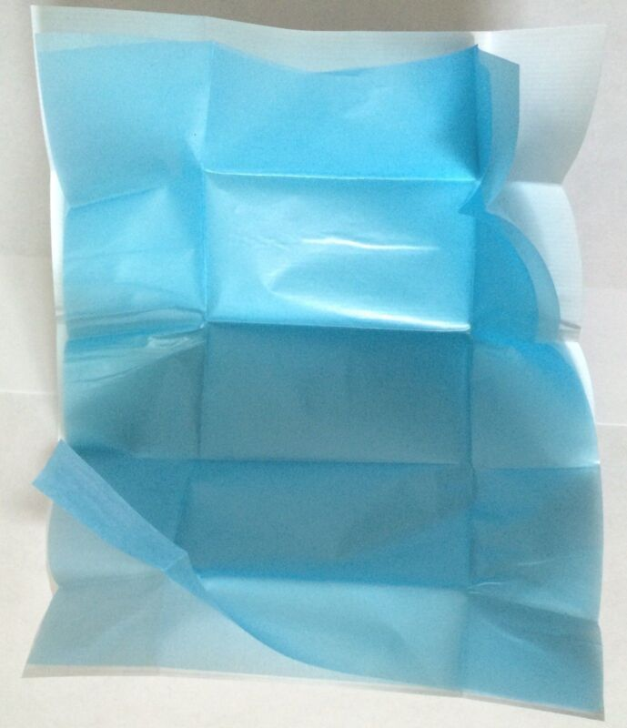 Diamond Parcel Papers White & Light Blue Premium Belgium Blue 100pc  VISION mark