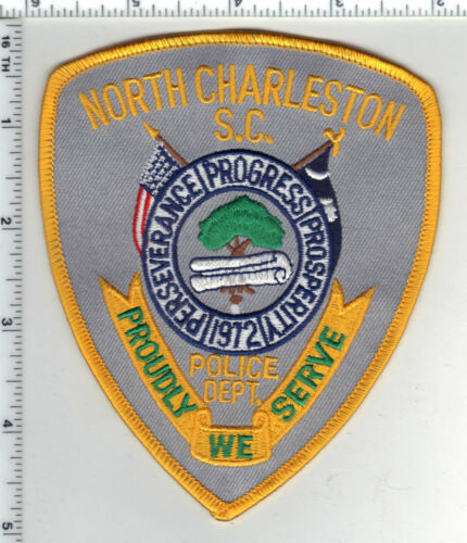 North Charleston Police (South Carolina) 2nd Issue Shoulder Patch