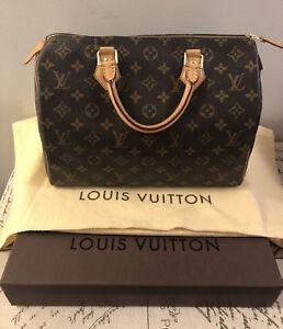 Authentic Louis Vuitton - Speedy 30 Mint Condition