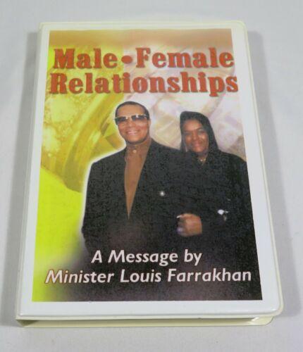 Male Female Relationships by Minister Louis Farrakhan (8 Cassette Tape set)
