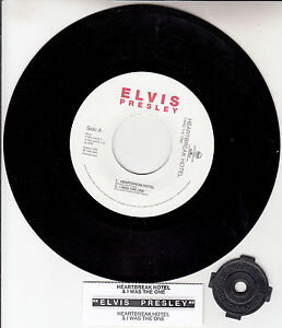 ELVIS-PRESLEY-Heartbreak-Hotel-I-Was-The-One-EP-7-45-rpm-NEW-juke-box-strip