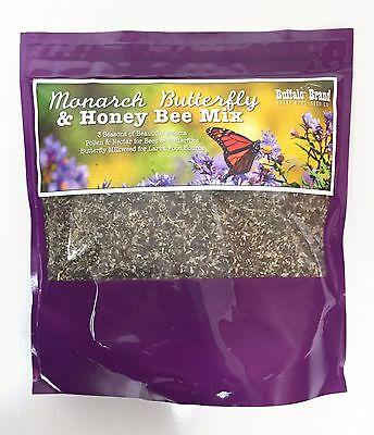 Monarch Butterfly & Honey Bee Pollinator Flower Mix By Sharp Bros. Seed Company