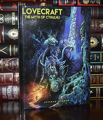 Myth of Cthulhu Horror by H.P. Lovecraft  New Illustrated Deluxe Hardcover Gift