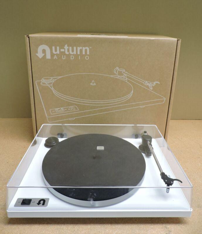 U-Turn Audio Orbit Plus Turntable (White)