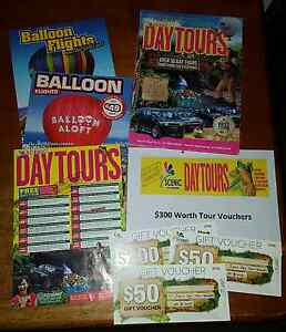 $300 value scenic day tour gift vouchers Robina Gold Coast South Preview
