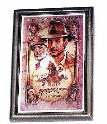 Disney Pin Indiana Jones Harrison Ford Lucas Film Movie Poster Last Crusade Sean