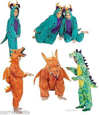 achen Kostüm Overall Plüsch Tier Dino Monster Dinosaurier (Kostüm Krokodil)