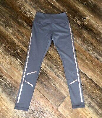 Zella Women's Workout Running Yoga Gray Silver Pants M NWOT
