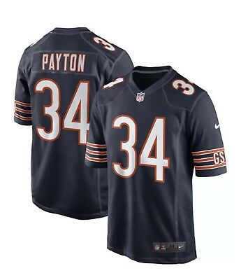 Chi Bears - Nike Chi Bears NFL Game Edition Walter Payton (Sweetness) #34 Jersey Limited NWT
