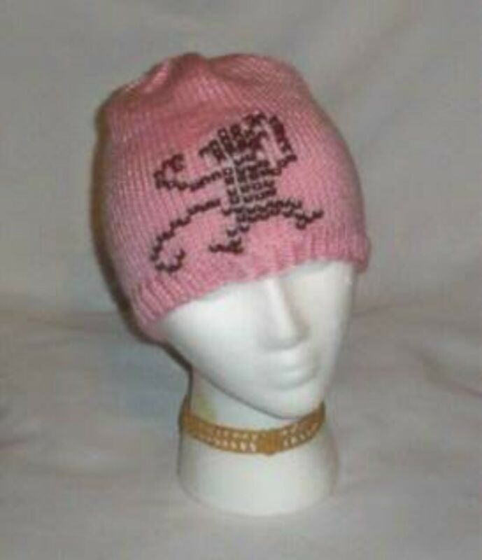 Hand Knit ~ Beaded Beanie Hats Monkey Made to Order