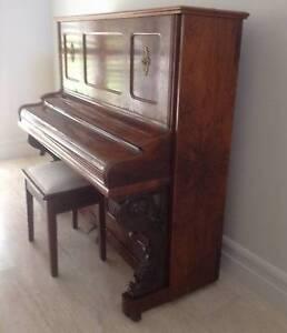 Antique piano - R.Lipp and Sohn Stuttgart upright piano Mosman Park Cottesloe Area Preview