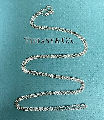 Tiffany & Co. Paloma Picasso Sterling Silver 925 M Link Chain Necklace 24