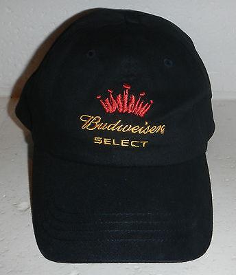 NWOT Budweiser Select Beer Embroidered Logo Baseball Hat Cap
