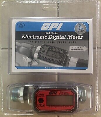 Gpi Electronic Fuel Meter 01a31gm New Free Shipping