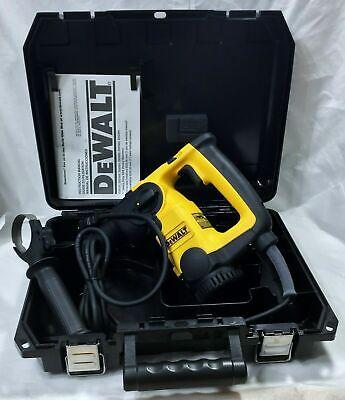 Dewalt D25203 Professional 1 Sds Hammer Drill Kit 7.5 Amps Of Power