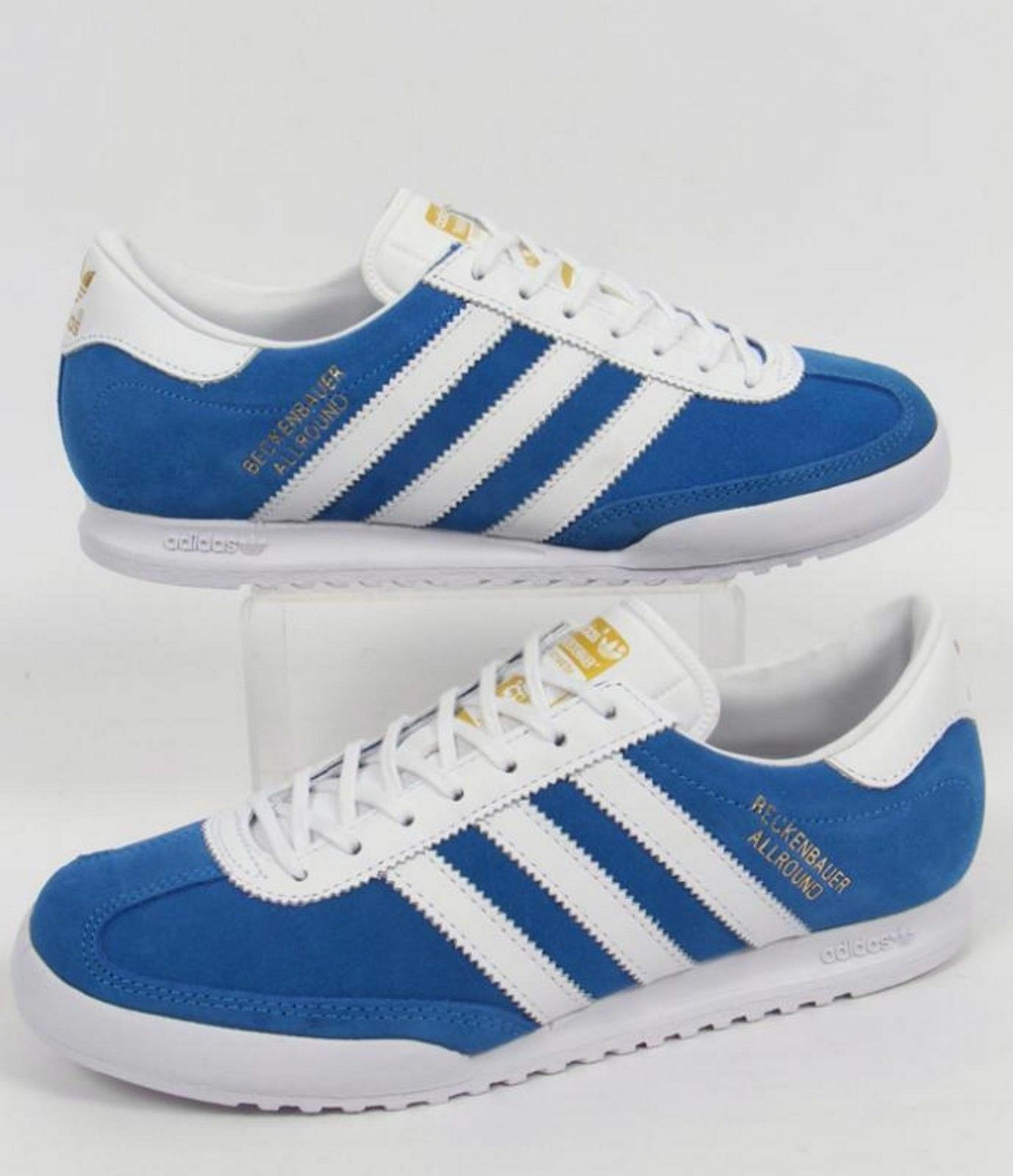 obtenir pas cher dbf55 f5e8b Details about ✅24Hr DELIVERY ✅Adidas Beckenbauer Allround Mens Casual Retro  Trainers Shoes £69