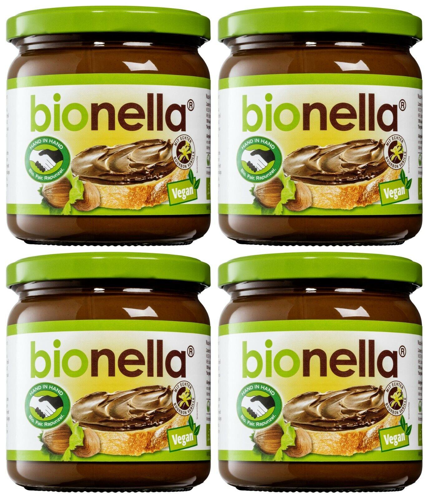 Rapunzel BIONELLA® - Nuss-Nougat-Creme VEGAN 400g - Bio aus Liebe