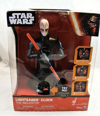 Star Wars Lightsaber Alarm Clock The Inquisitor Animation Lights & Sounds 9