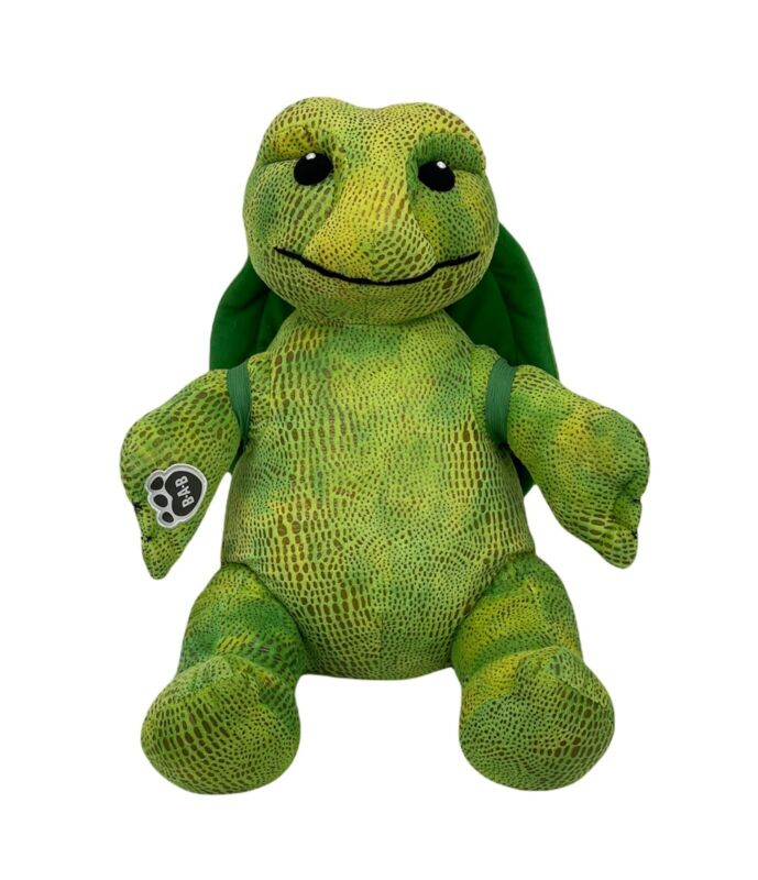 Build-A-Bear Turtle Plush Limited Edition Removable Plush Textured Stuffed Toy