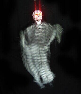 Prisoner Skeleton Halloween Prop (Animated Skeleton Prisoner Moving Arms Scary Halloween Party Hanging Prop)