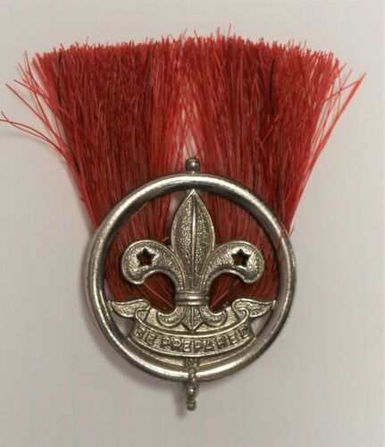 WORLD SCOUTING…HAT PLUME - CANADA…MID CENTURY - HALLMARKED SCULLY - MONTREAL
