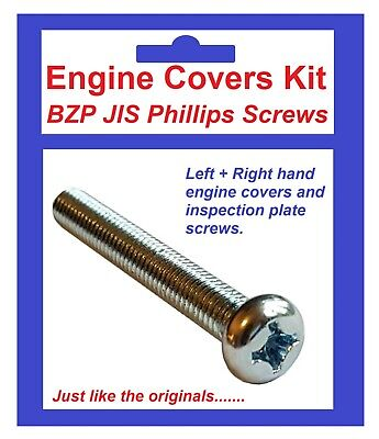 Used, BZP Philips Engine Covers Kit - Yamaha AS3C for sale  Shipping to Ireland