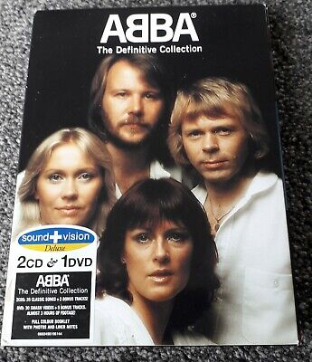 Abba - The Definitive Collection(2004) Deluxe Sound+Vision 2 CD & 1 DVD BOX SET