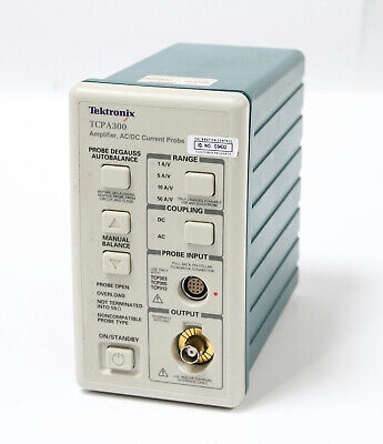 Tektronix Tcpa300 Acdc Current Probe Amplifier