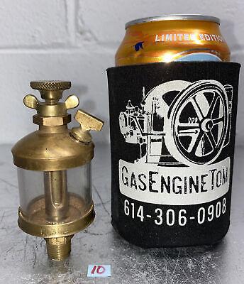 Planet Brass Oiler 1 Hit Miss Gas Engine Antique