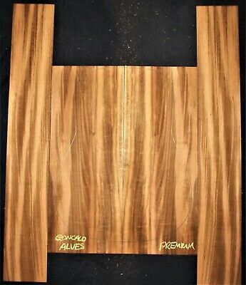 Guitar Luthier Tonewood TIGERWOOD GONCALO ALVES Acoustic backs sides SET