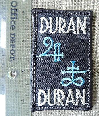 Duran Duran Patch With Symbol Unused Scarce Item