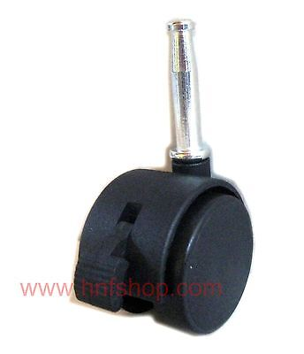 4pcsset 1.5 Furniture Swivel Casterswheel W Socket Brake Chair Replacement
